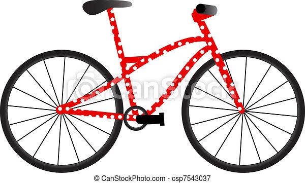 Bike con puntos - csp7543037
