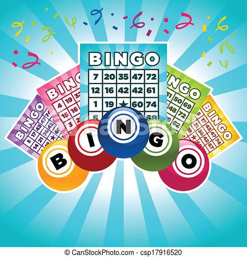 Ilustración de Bingo - csp17916520
