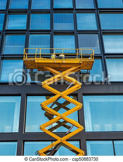 Bloqueo de ascensor de tijeras - csp50883730