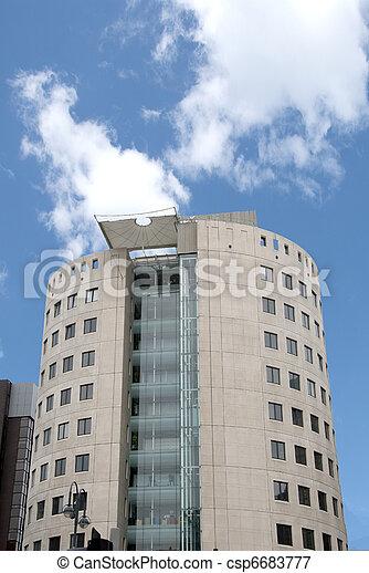 Bloqueo de oficinas - csp6683777