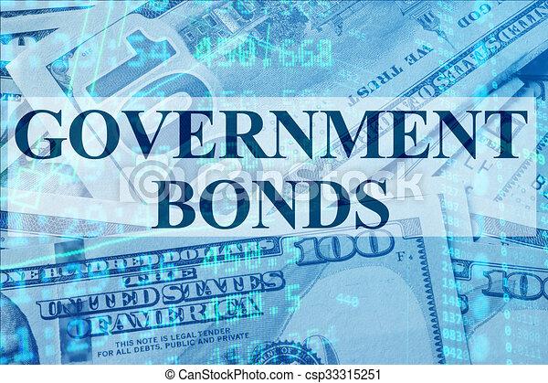 Bonos del gobierno - csp33315251