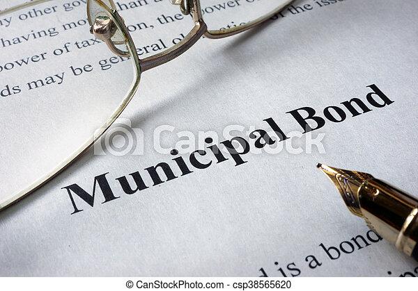 Bonos municipales - csp38565620