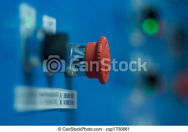 Botón de parada de emergencia - csp1700881