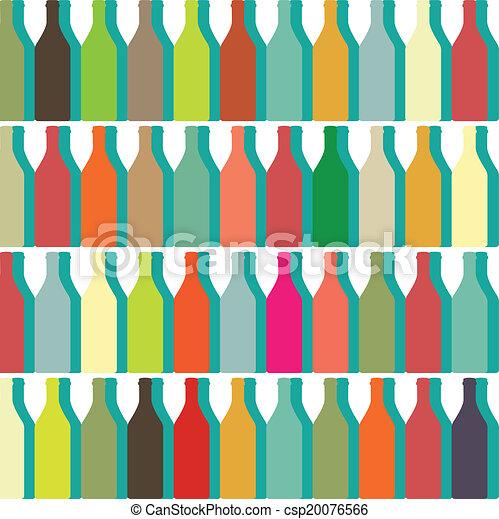Botellas de color - csp20076566