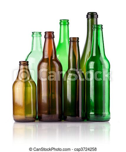 Botellas - csp3724258
