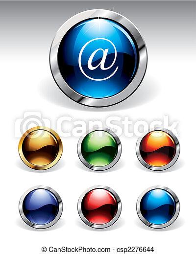 Botones brillantes - csp2276644