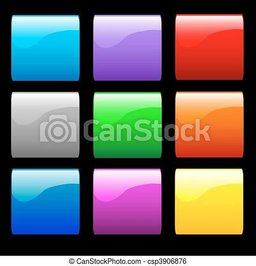 Botones brillantes y suaves - csp3906876