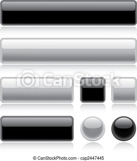 Botones de telaraña - csp2447445