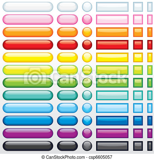 Botones en la red - csp6605057