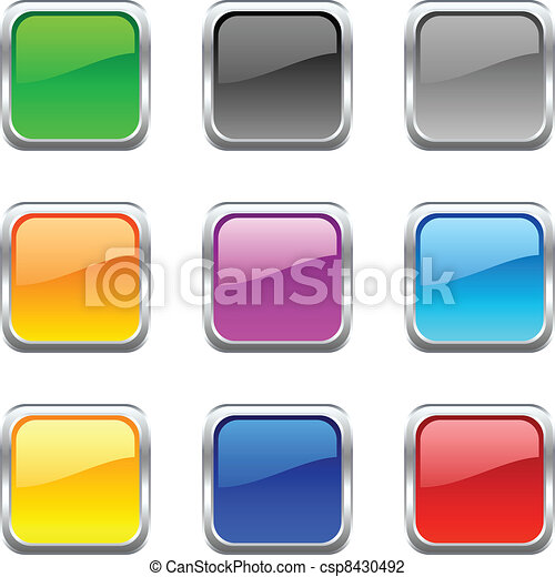 Botones web. - csp8430492