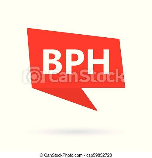 BPH (Hiperplasia prostática Benigna) en burbuja de espeach - csp59852728