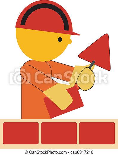 Bricklayer - csp6317210