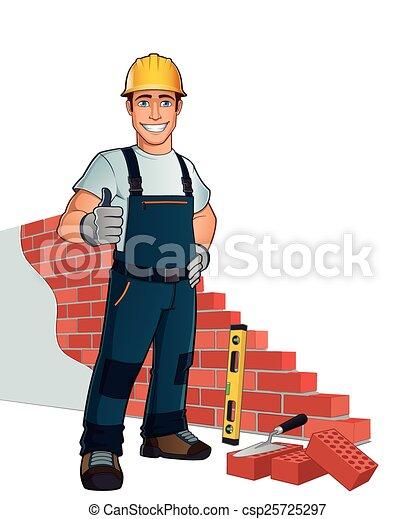 Bricklayer - csp25725297