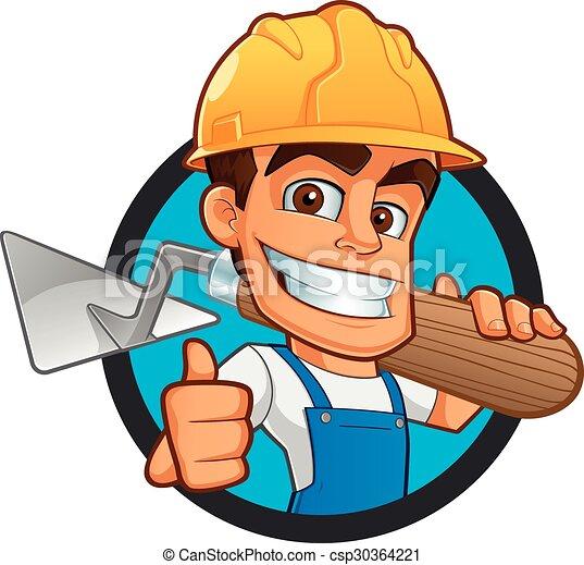 Bricklayer - csp30364221