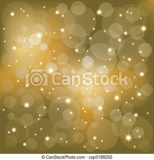 Brillantes estrellas de fondo - csp3188250