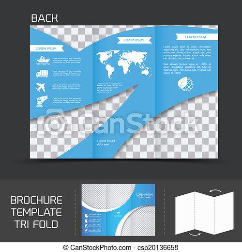 Brochure plantlate tri pliegue - csp20136658