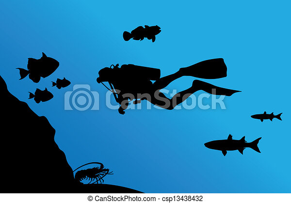 Inmersión - csp13438432
