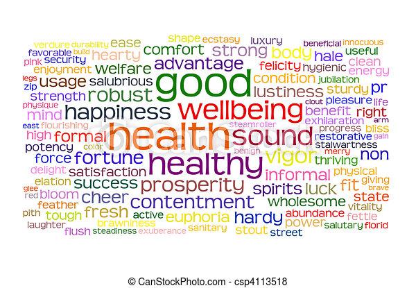 Buena salud y buena etiqueta - csp4113518