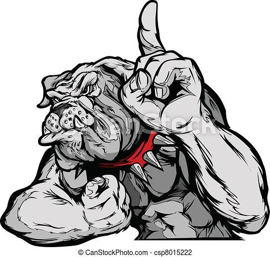 Buque de mascotas de Bulldog - csp8015222