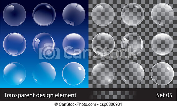 Burbujas transparentes - csp6306901