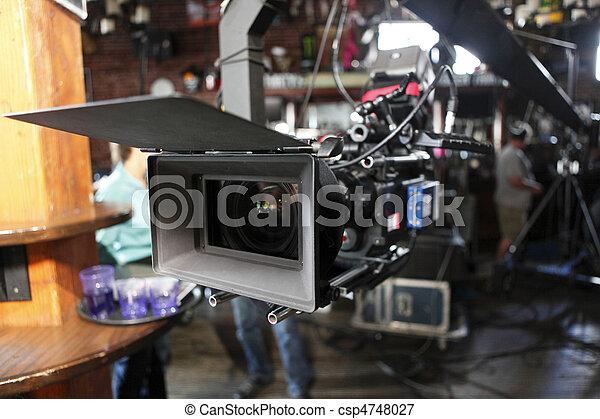 Cámara de cine digital - csp4748027