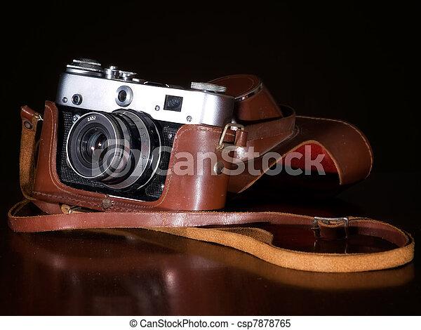 Retro cámara - csp7878765