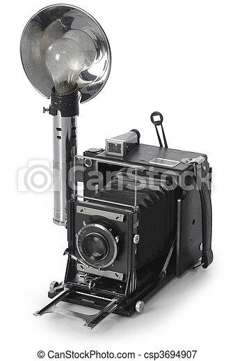 Retro cámara - csp3694907