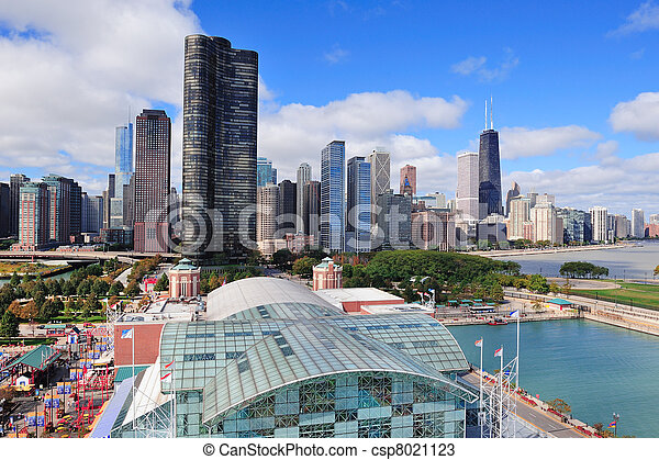 La ciudad de Chicago - csp8021123