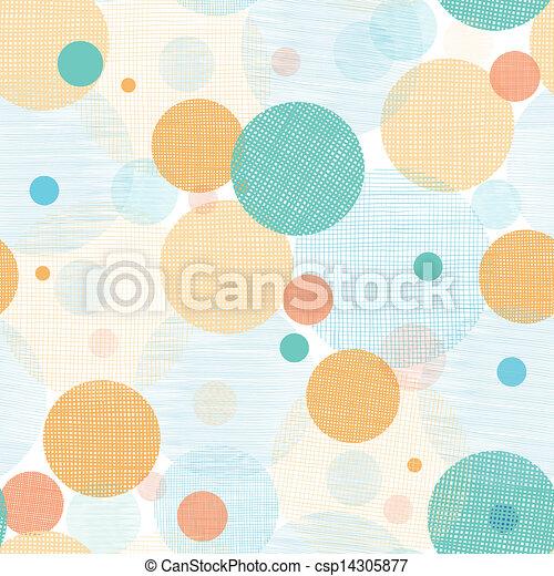 Círculos fábricos abstractos de fondo sin manchas - csp14305877