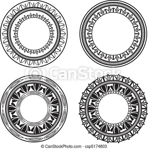 Círculos naturales - csp5174803