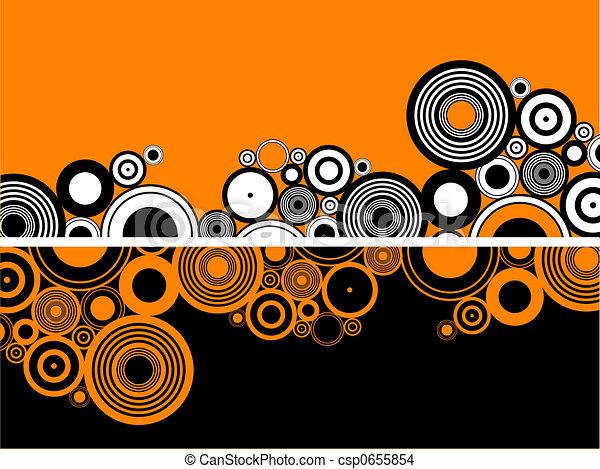 Círculos de retro - csp0655854