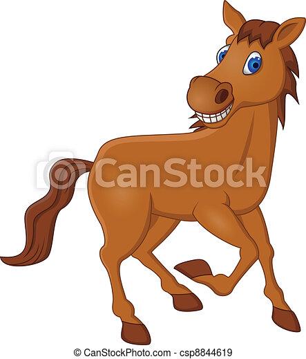 Dibujos de caballos - csp8844619