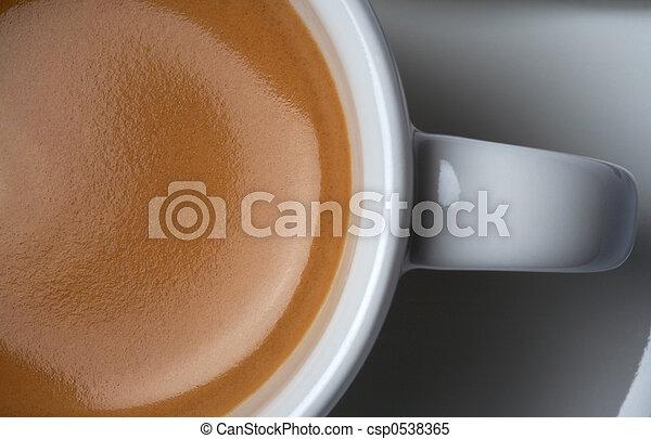Café expreso americano - csp0538365