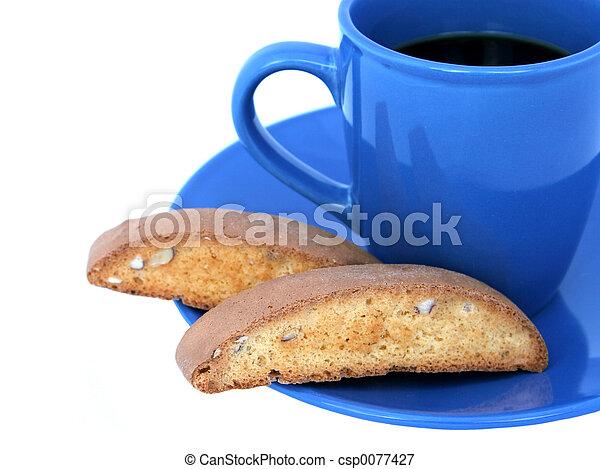 Café y biscotti 2 - csp0077427