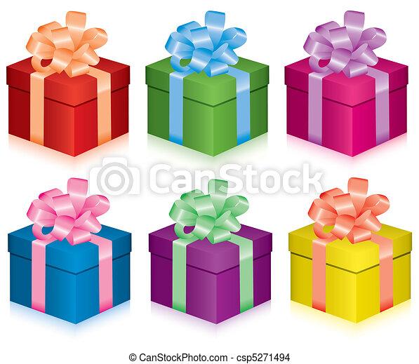 Cajas de regalos - csp5271494