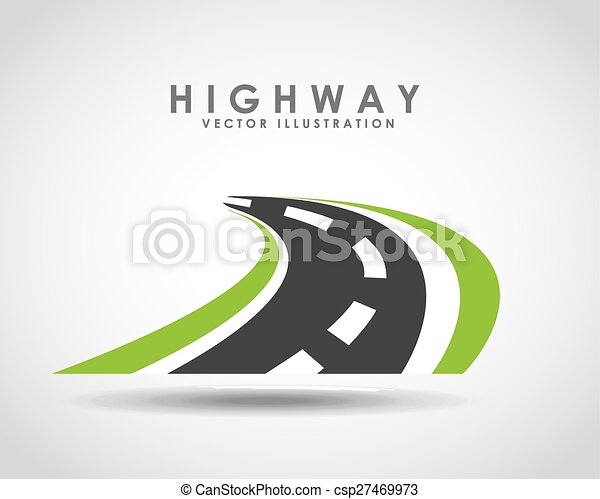 Camino de carretera - csp27469973