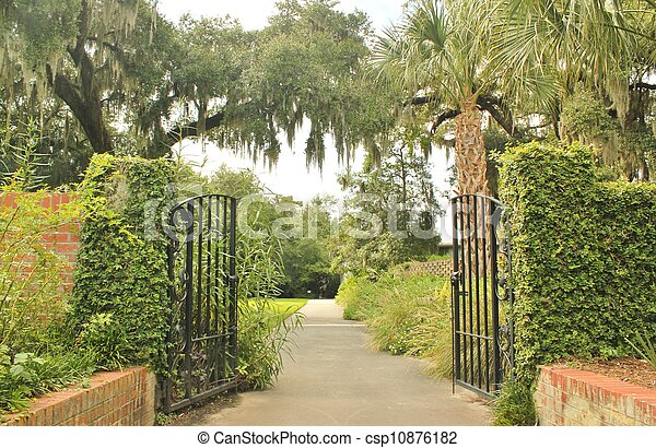 Camino del jardín 4 - csp10876182