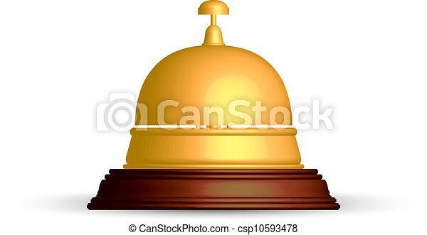 La campana de recepción - csp10593478