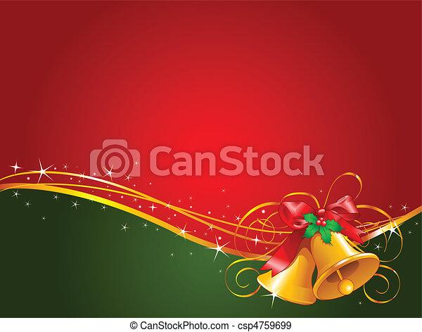 Campanas de Navidad - csp4759699
