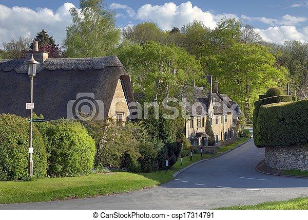 Broad campden, Cotswolds - csp17314791