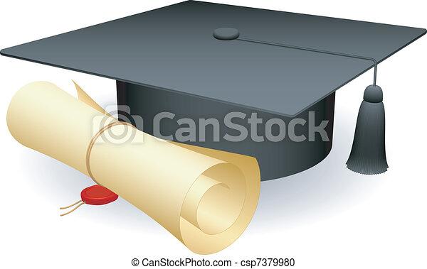 Capa de graduación. - csp7379980