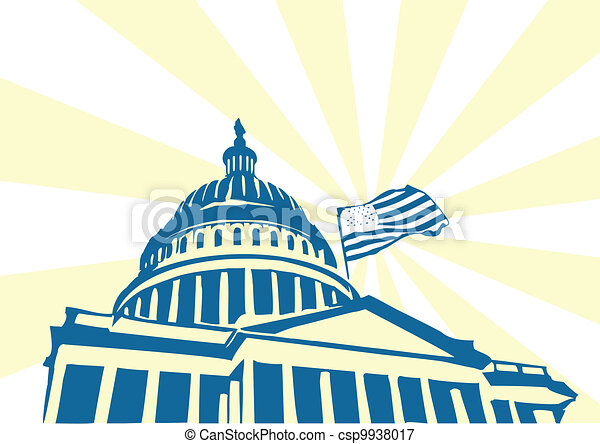 El Capitolio de EEUU - csp9938017