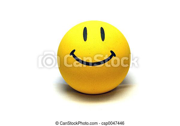 Cara sonriente - csp0047446