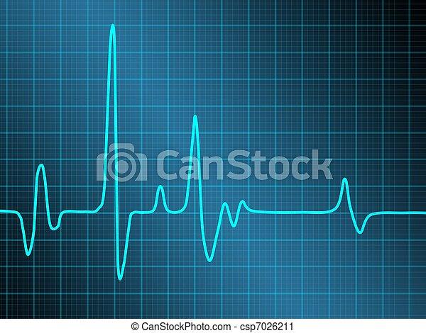Cardiograma - csp7026211