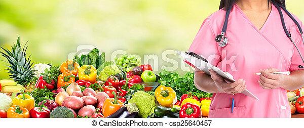 Dieta y salud. - csp25640457