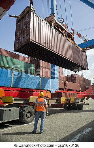 Cargando el contenedor - csp1670136