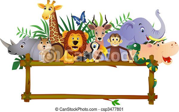 Dibujos animados - csp3477801