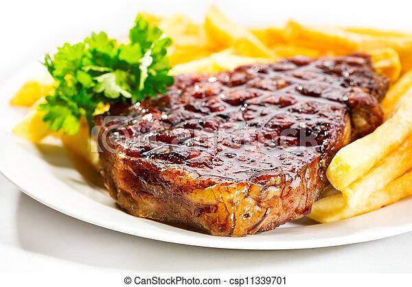 Carne asada - csp11339701