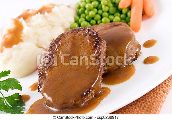 Carne asada - csp0268917