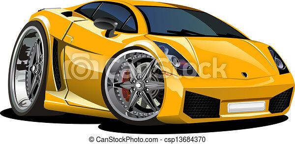 Carro deportivo - csp13684370